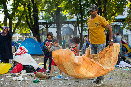 refugees-in-belgrade